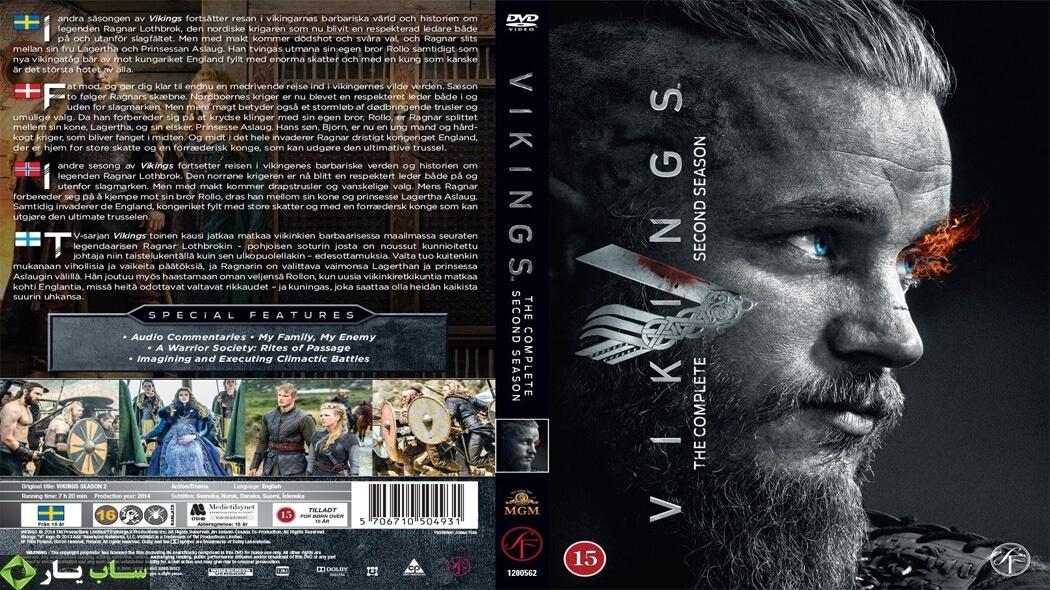 دانلود زیرنویس فارسی فصل دوم سریال Vikings